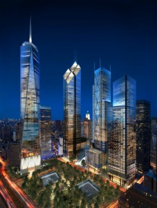 world trade center norman foster 227x300 La tour 2 World Trade Center à New York : la troisième plus haute tour dAmérique par Norman Foster