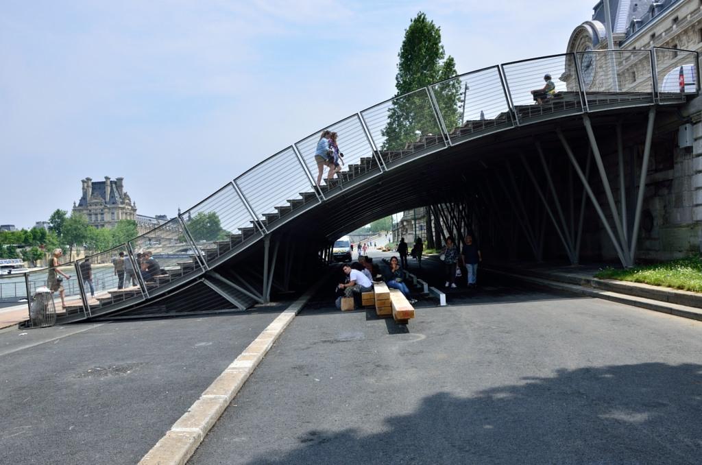 Inauguration des Berges de Seine, Paris