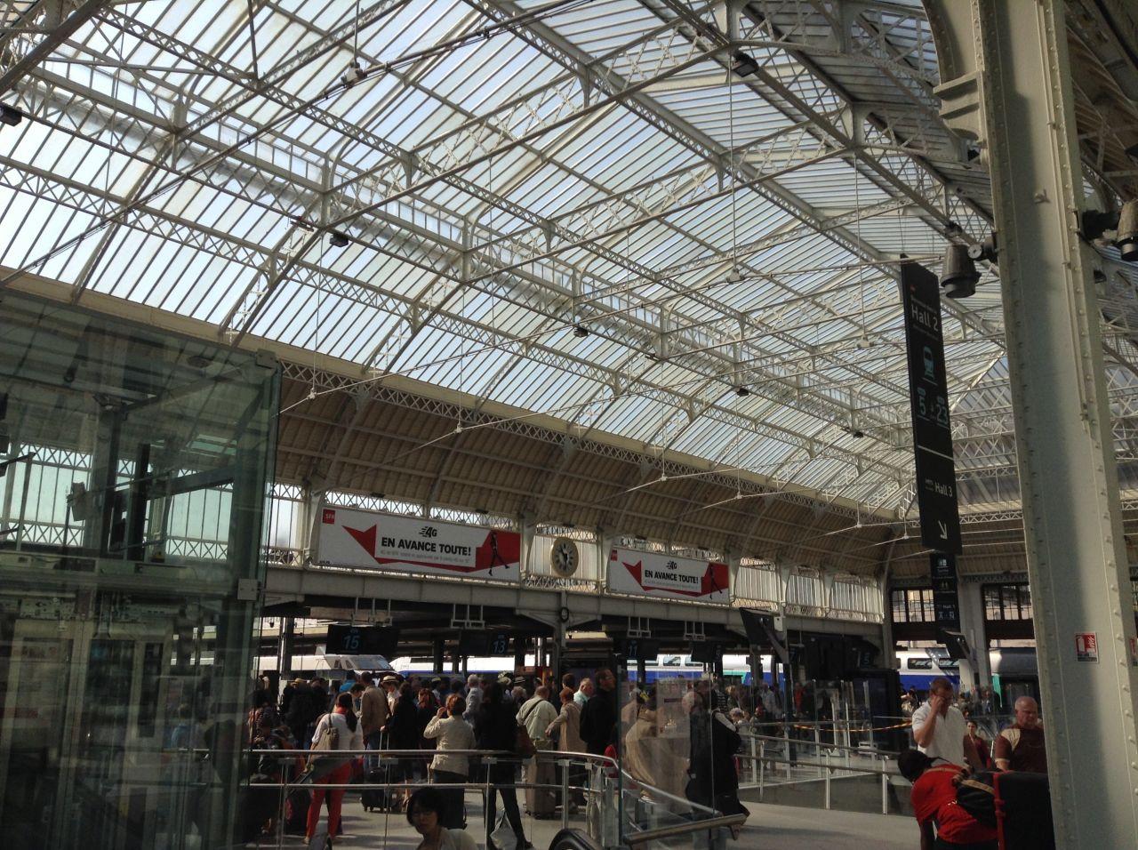 inauguration du nouveau 2 de la gare de lyon 224