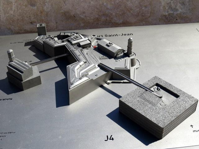 maquette-fort-saint-jean-J4-MUCEM-marseille