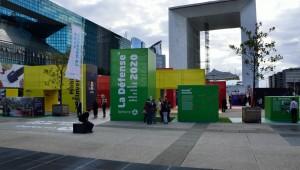 PrŽsentation du Plan guide des espaces publics de La DŽfense