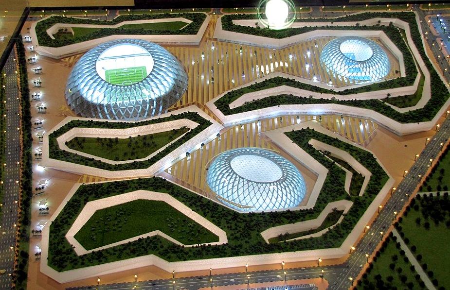 Stade d 39 al wakrah au qatar pour la coupe du monde 2022 par zaha hadid - Stade coupe du monde 2022 ...