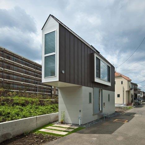 Fabuleux 10 petites maisons japonaises à l'architecture incroyable KG97