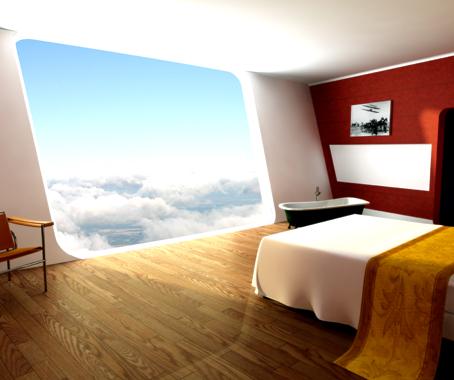 Les h tels du futur en images insolites et cologiques for Hotel insolite
