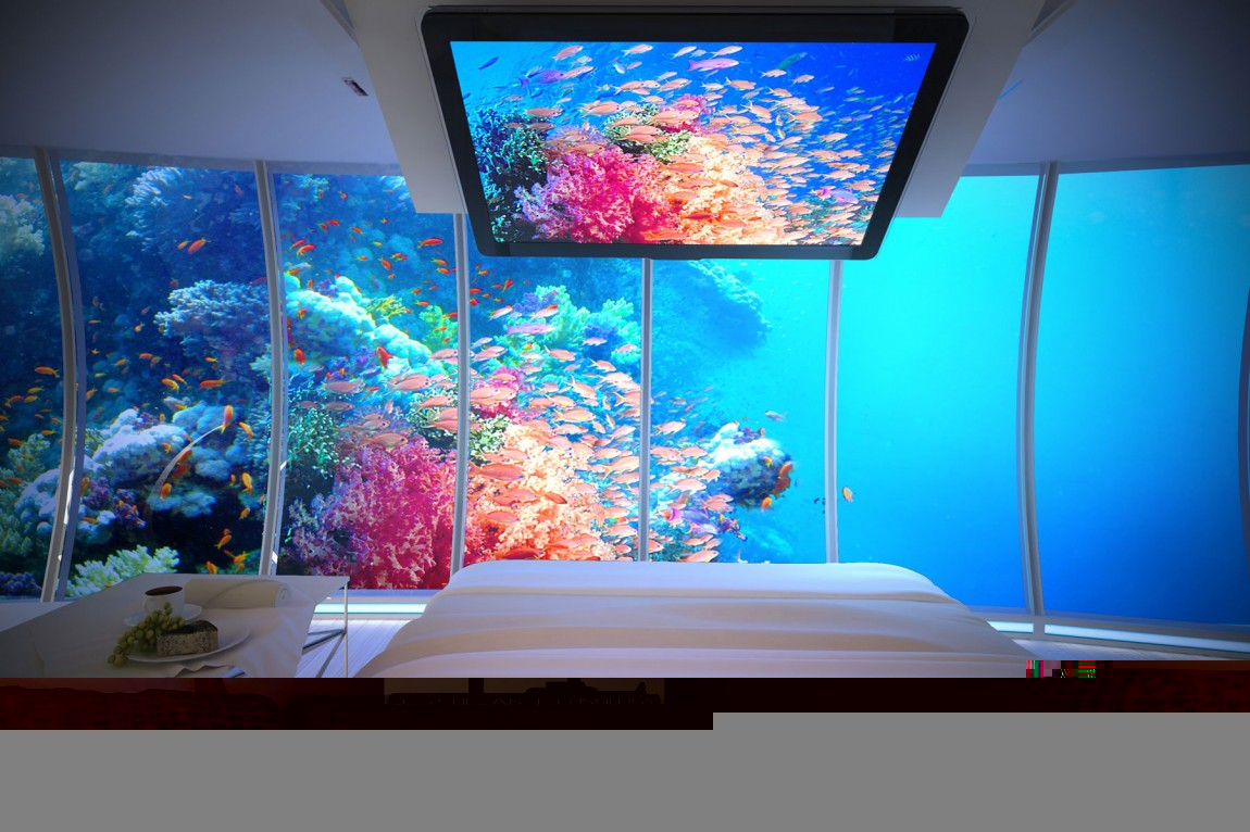 chambre-hotel-vue-sous-marine-insolite