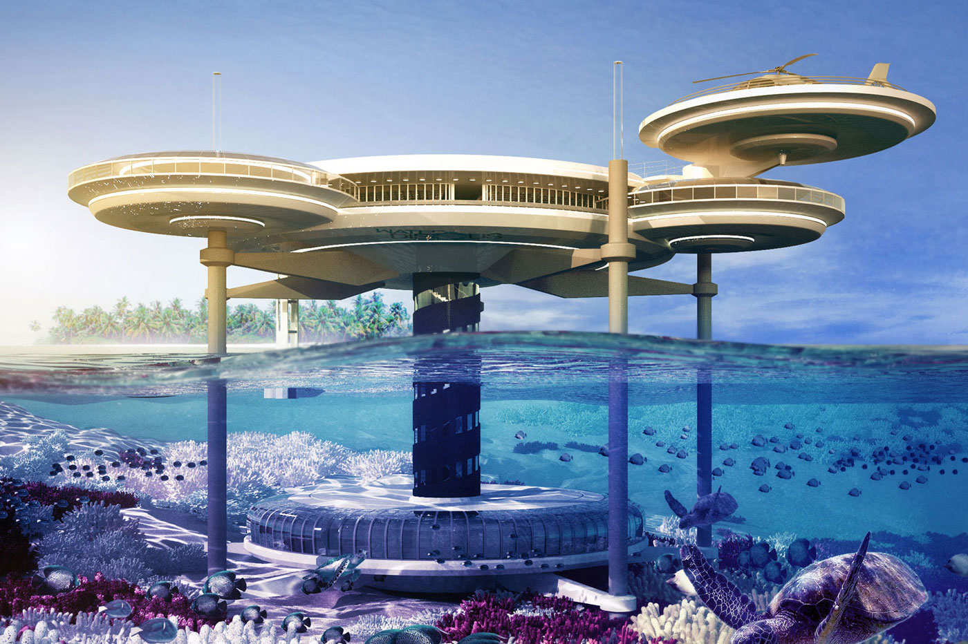 Les h tels du futur en images insolites et cologiques for Architecture du futur