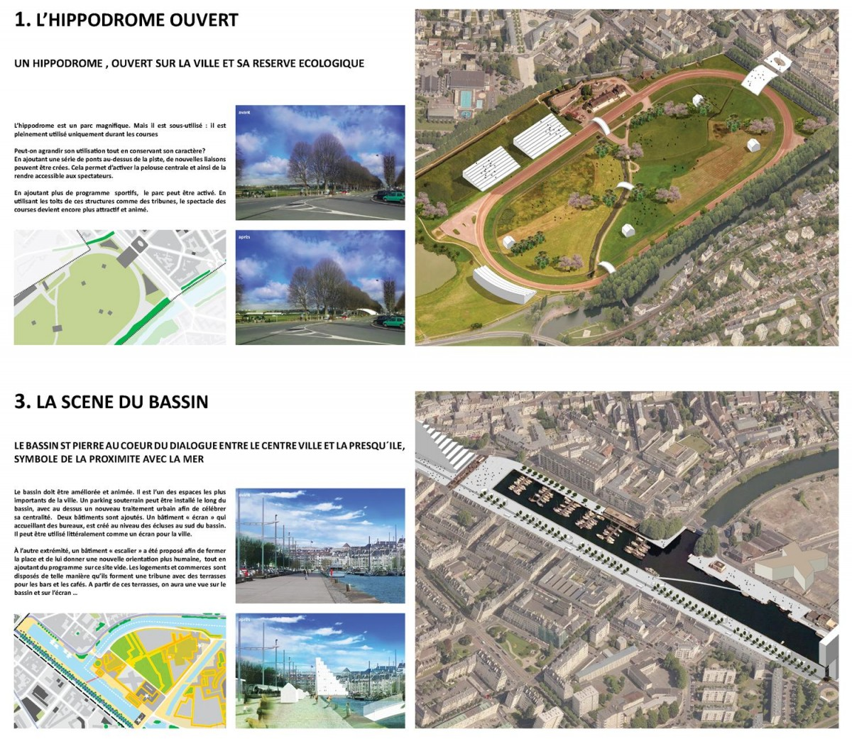 Presqu 39 ile de caen 600 hectares de projets en centre ville for Architecture symbolique