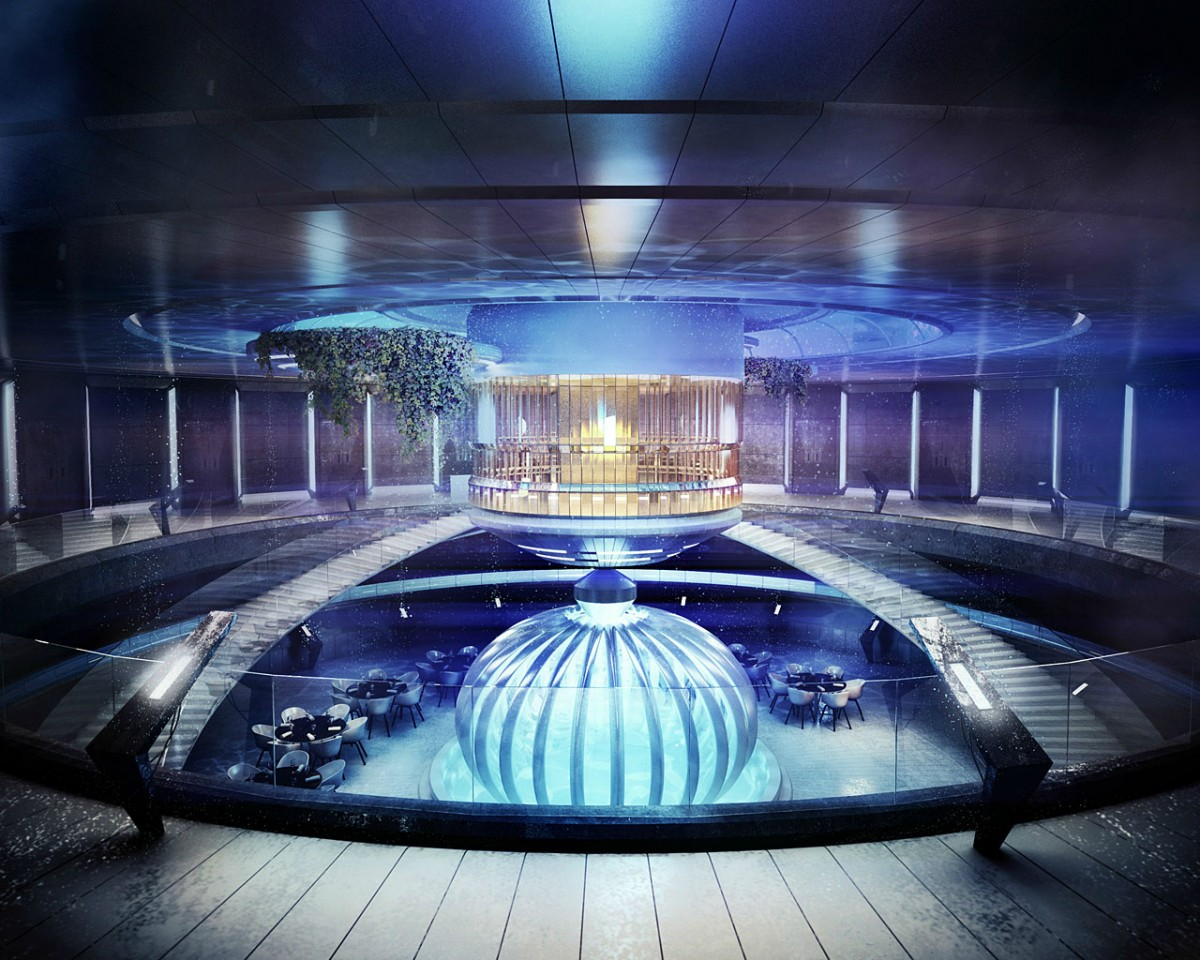 Les h tels du futur en images insolites et cologiques for Hotel luxe design