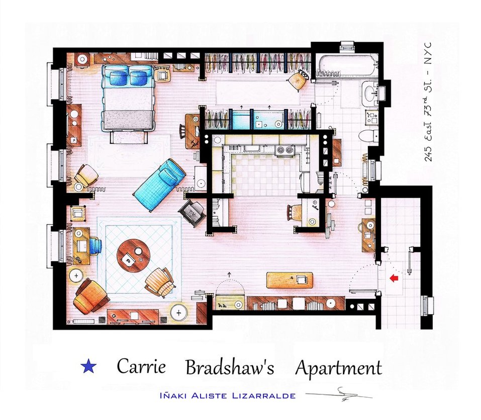 appartement-carrie-bradshaw-sex-city-serie
