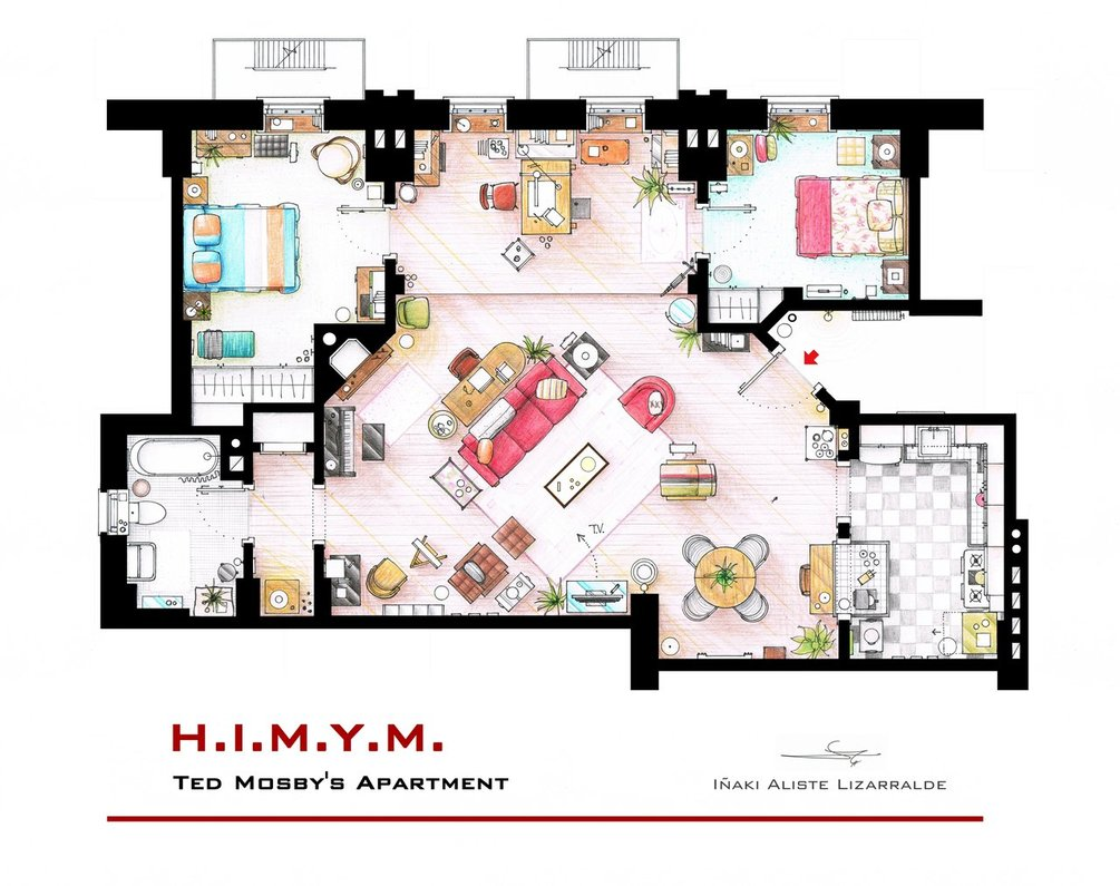 appartement-how-met-mother-ted-mosby