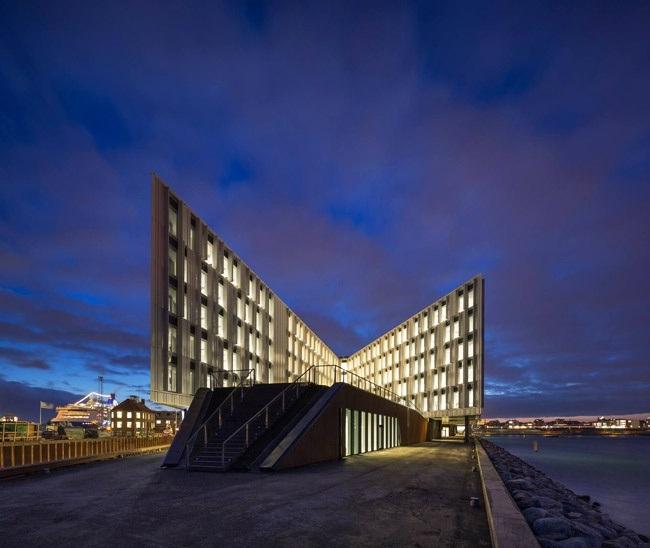 batiment onu ecologique leed energie renouvelable La Cité de lONU à Copenhague : un bâtiment insolite en étoile