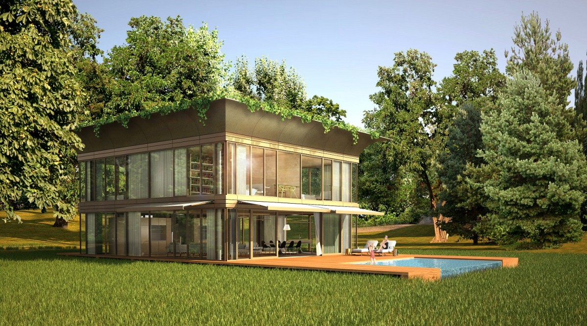 Connu P.A.T.H. : une maison écologique préfabriquée - Blog Archionline SF23