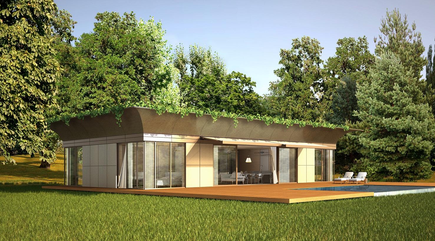 starck et l 39 entreprise riko lancent la maison cologique. Black Bedroom Furniture Sets. Home Design Ideas