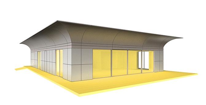 maison path ecologique passive starck. Black Bedroom Furniture Sets. Home Design Ideas