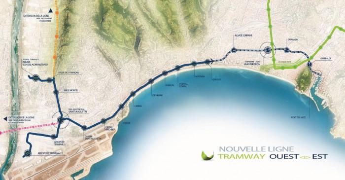 plan-ligne-tramway-nice-ouest-est
