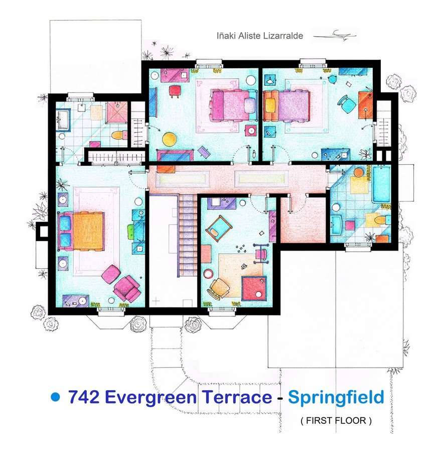 Les plans des appartements de s ries t l s les plus c l bres for Google plan maison