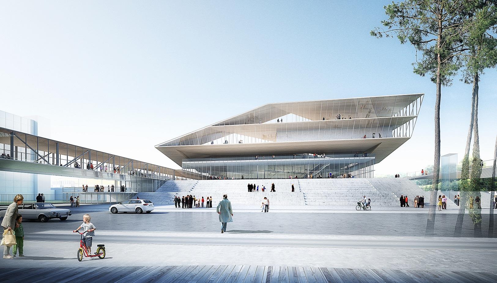 Le futur parc des expositions pex de strasbourg en images for Parc des expo strasbourg