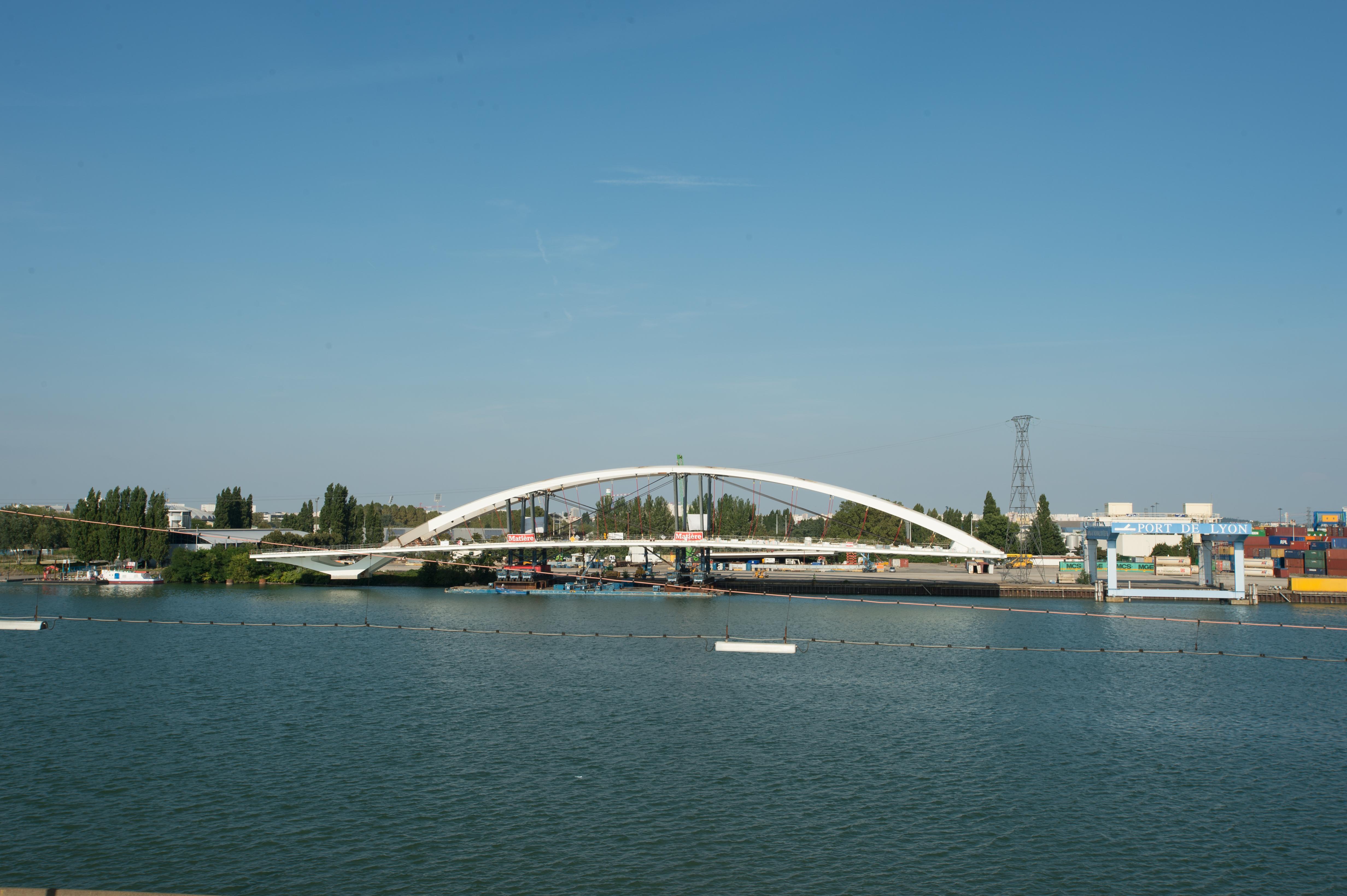 Le Nouveau Pont Raymond Barre  U00e0 Lyon Accueillera La Ligne