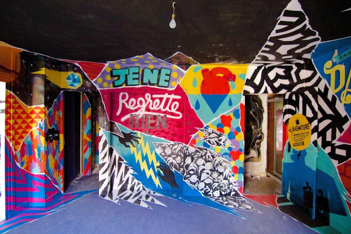 Tour paris 13 un immeuble transform en galerie de street art - Galerie street art paris ...