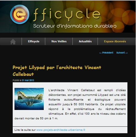 efficycle lilypad