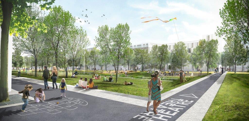 Ilex imagine un nouveau parc de 10 ha l 39 ouest de paris for 3d jardin paysagisme