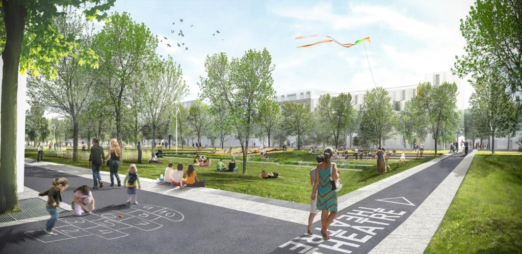Ilex imagine un nouveau parc de 10 ha l 39 ouest de paris for Architecte urbaniste de l etat