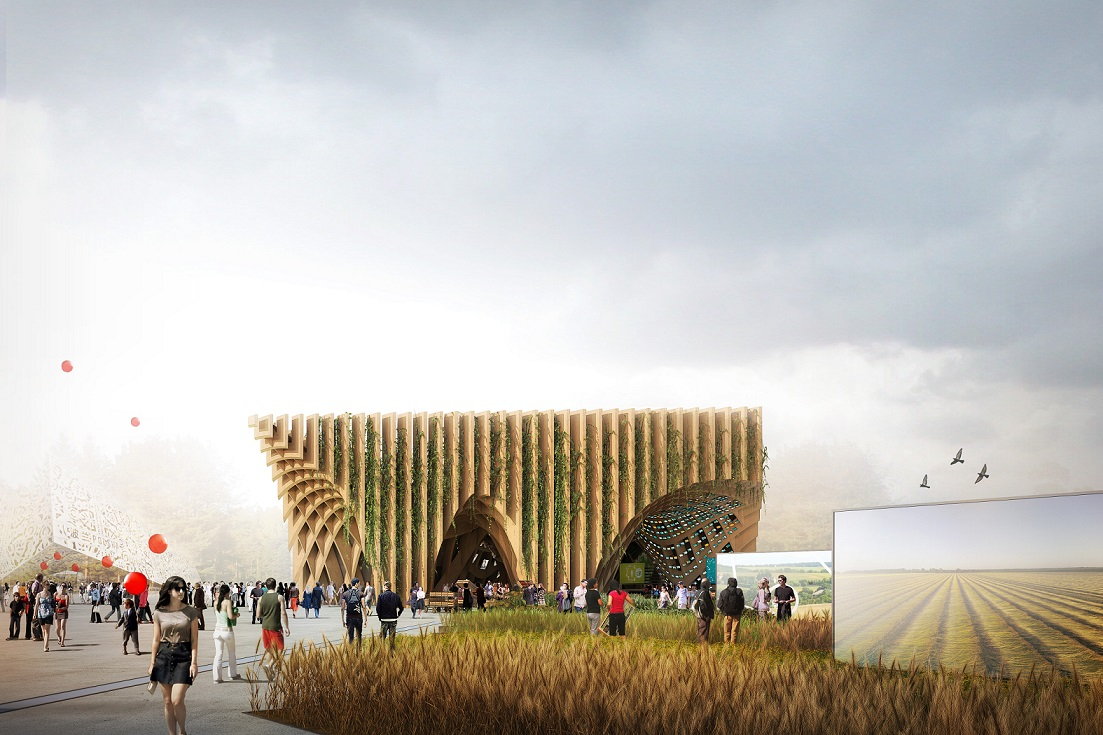 Stands Expo Universelle Milan : Le pavillon france de l exposition universelle milan