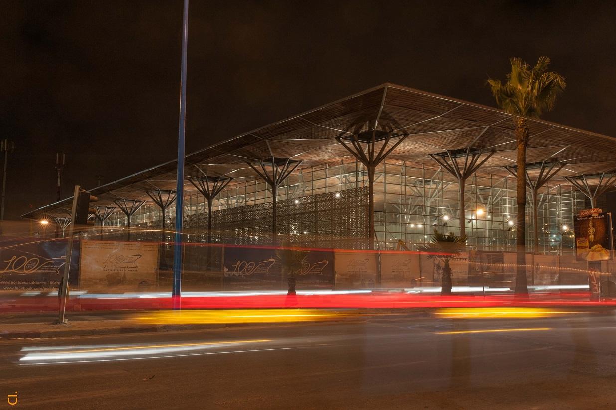 Casa port la nouvelle gare ultramoderne de casablanca