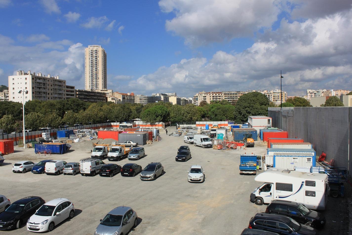 D couvrez le projet de centre commercial du prado marseille for E parking marseille