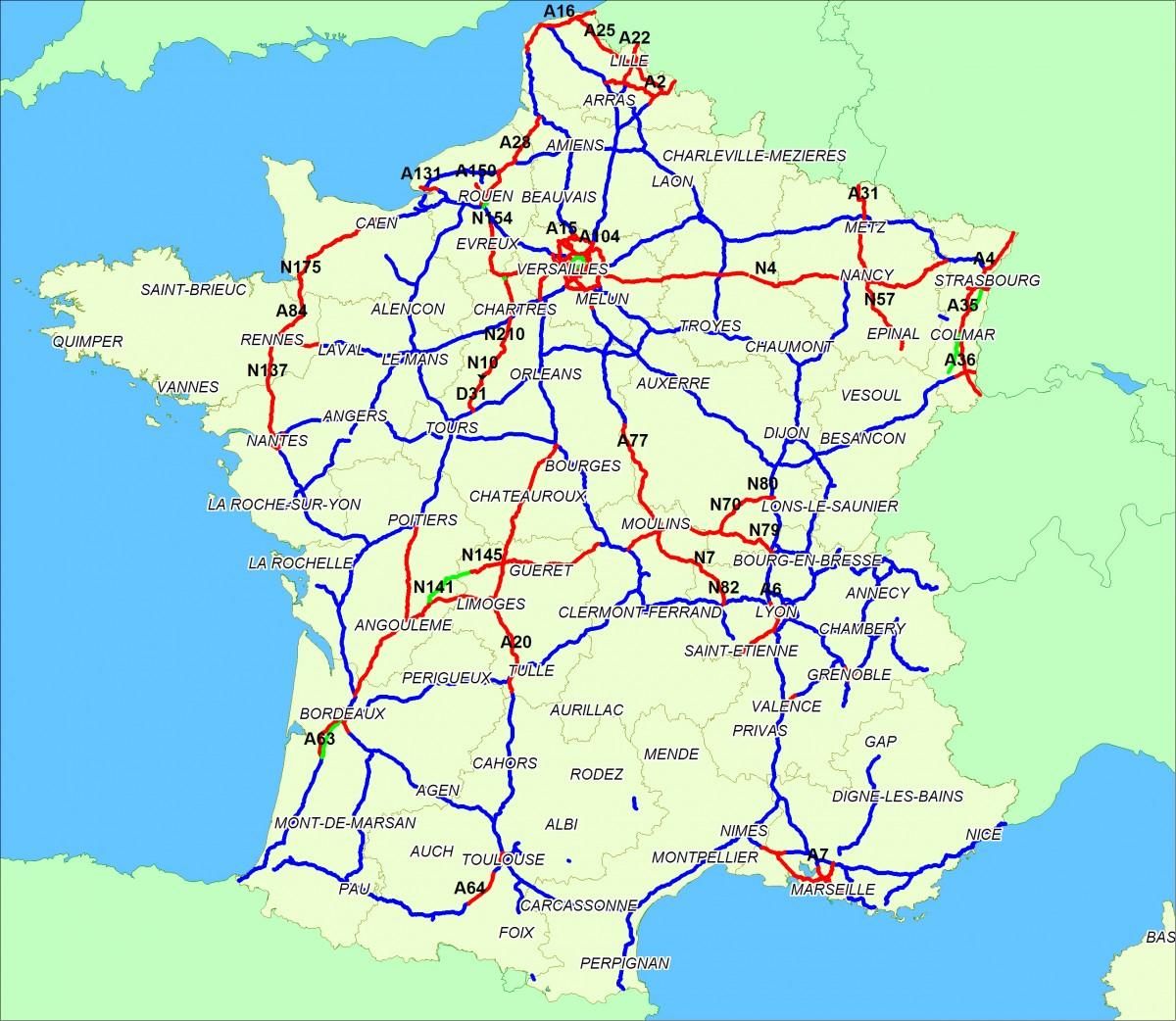 carte-peage-transit-ecotaxe-autoroute-france