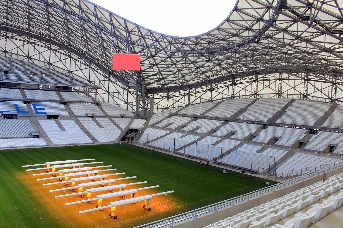 inauguration du stade v lodrome marseille