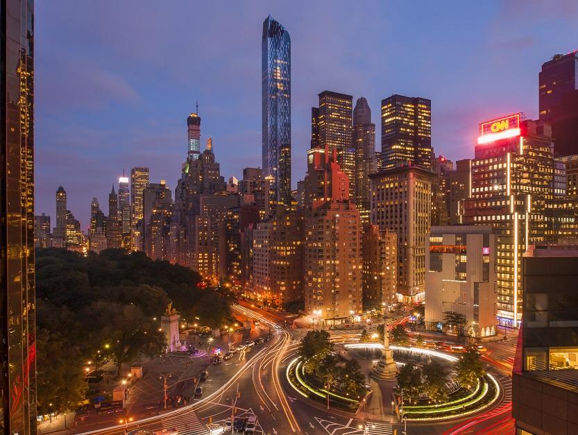 Christian de portzamparc livre la plus haute tour de for Plus haute tour new york