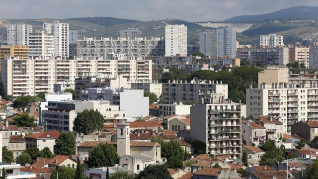 Quartiers Nords de Marseille - France