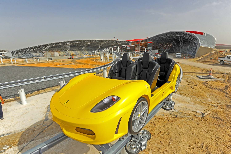 Megastructures :Les Montagnes Russes d'Abou Dhabi  [MULTI][PDTV]