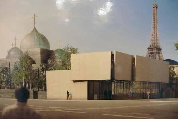 les projets pour le centre orthodoxe russe paris. Black Bedroom Furniture Sets. Home Design Ideas