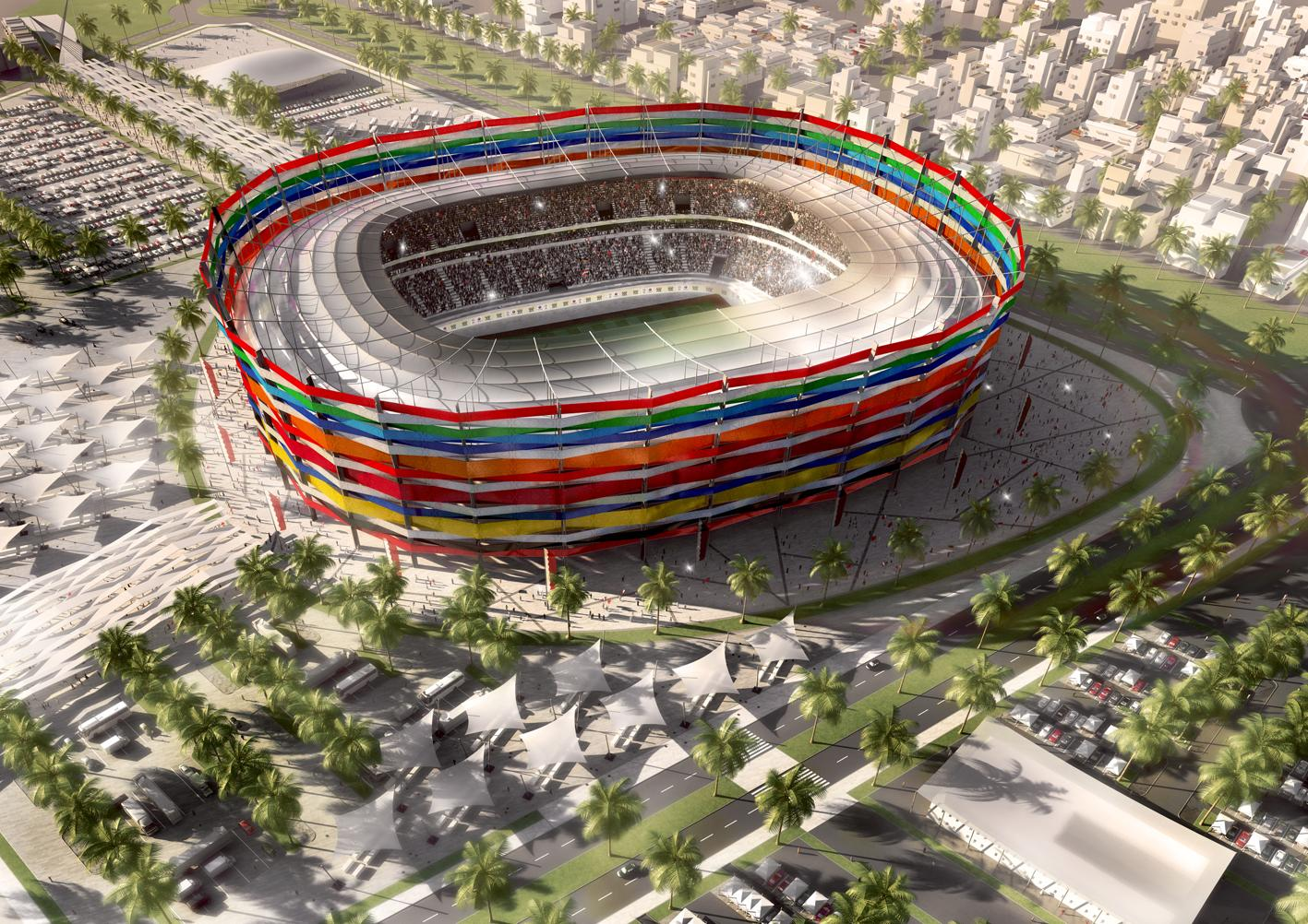 Les stades de la coupe du monde de foot en 2022 - Prochaine coupe du monde de foot 2022 ...