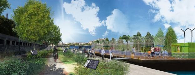 Delano pr sente son projet d 39 am nagement des quais de seine for Jardin botanique paris