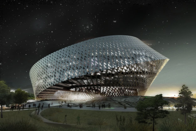 bibliotheque nationale kazakhstan astana La future Bibliothèque Nationale du Kazakhstan véritable tourbillon architectural