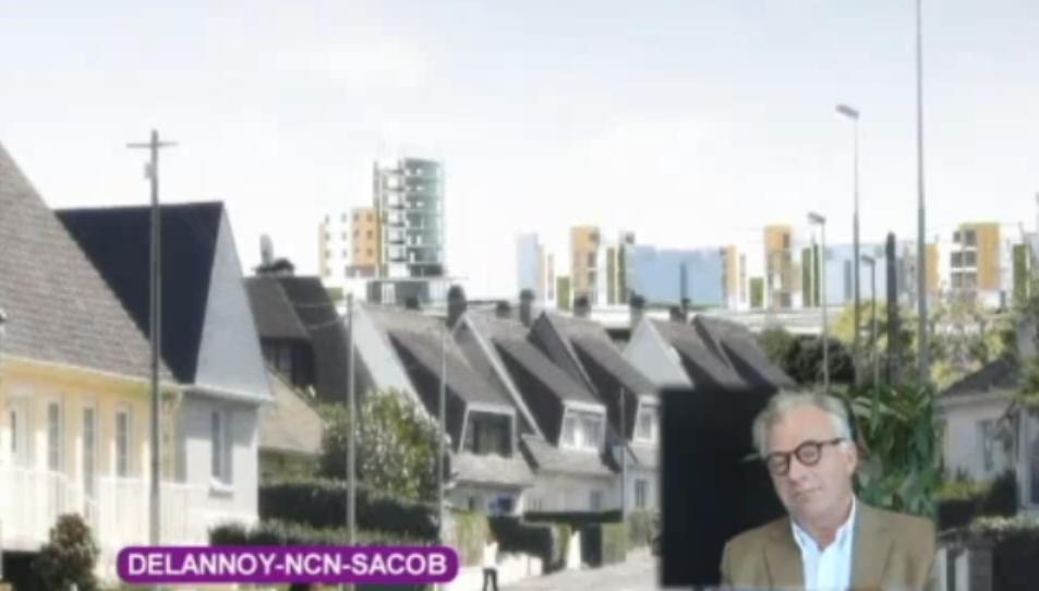 Delannoy projet laureat boulogne seine for Delannoy architecte