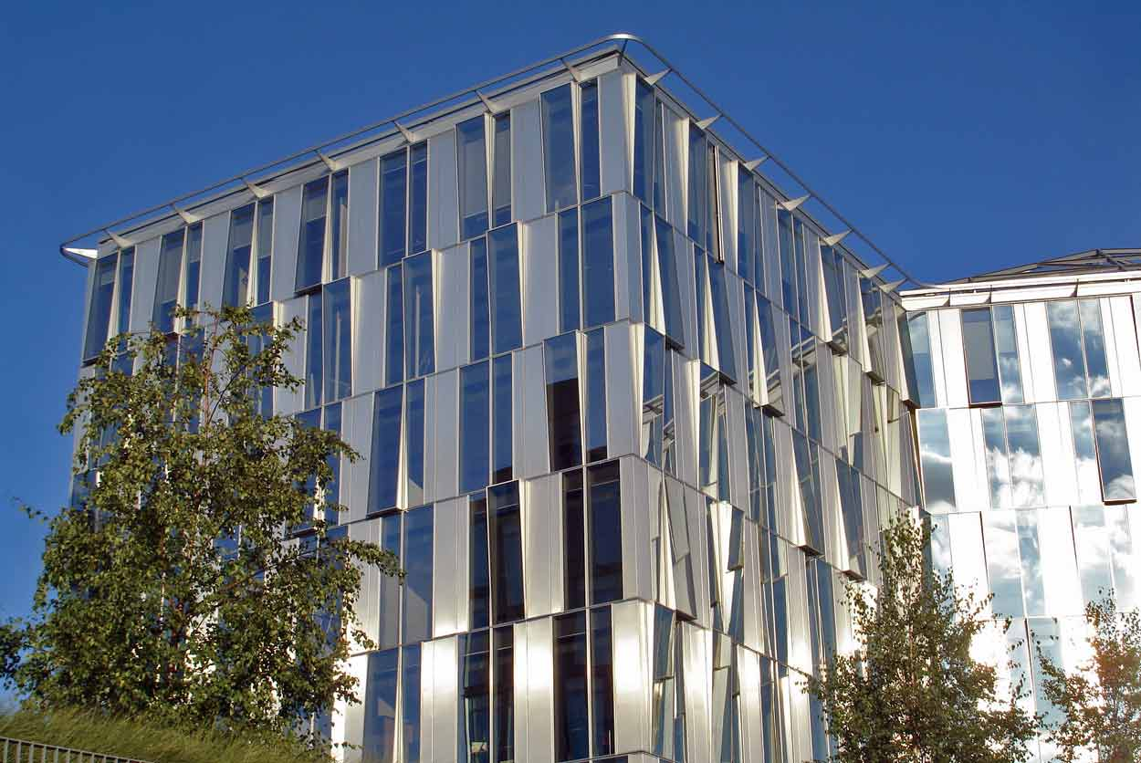 Inauguration de l 39 immeuble de dominique perrault lille for Immeuble bureau architecture