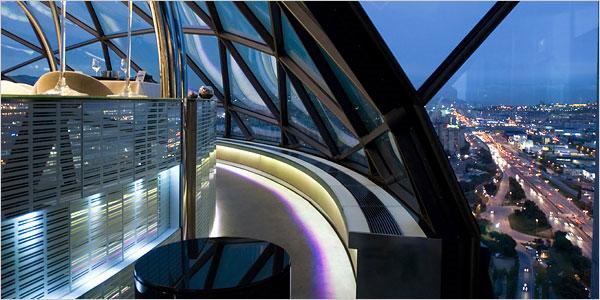 evo-restaurant-panoramique-barcelone-hesperia