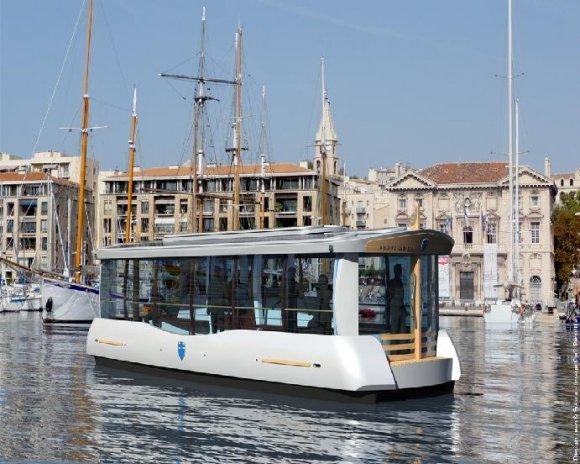 Inauguration du nouveau ferry boat dans le vieux port de - Promenade bateau marseille vieux port ...