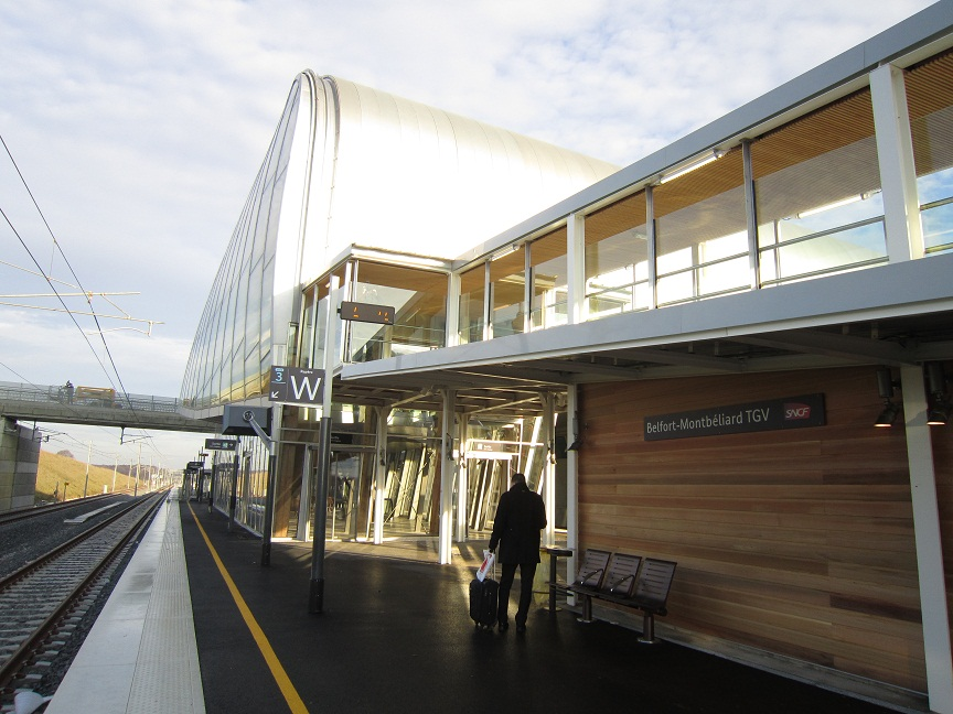 inauguration de la gare tgv belfort montbeliard hqe lgv rhin rh ne. Black Bedroom Furniture Sets. Home Design Ideas