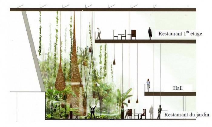 la tour carpe diem par aviva futur gratte ciel la d fense. Black Bedroom Furniture Sets. Home Design Ideas