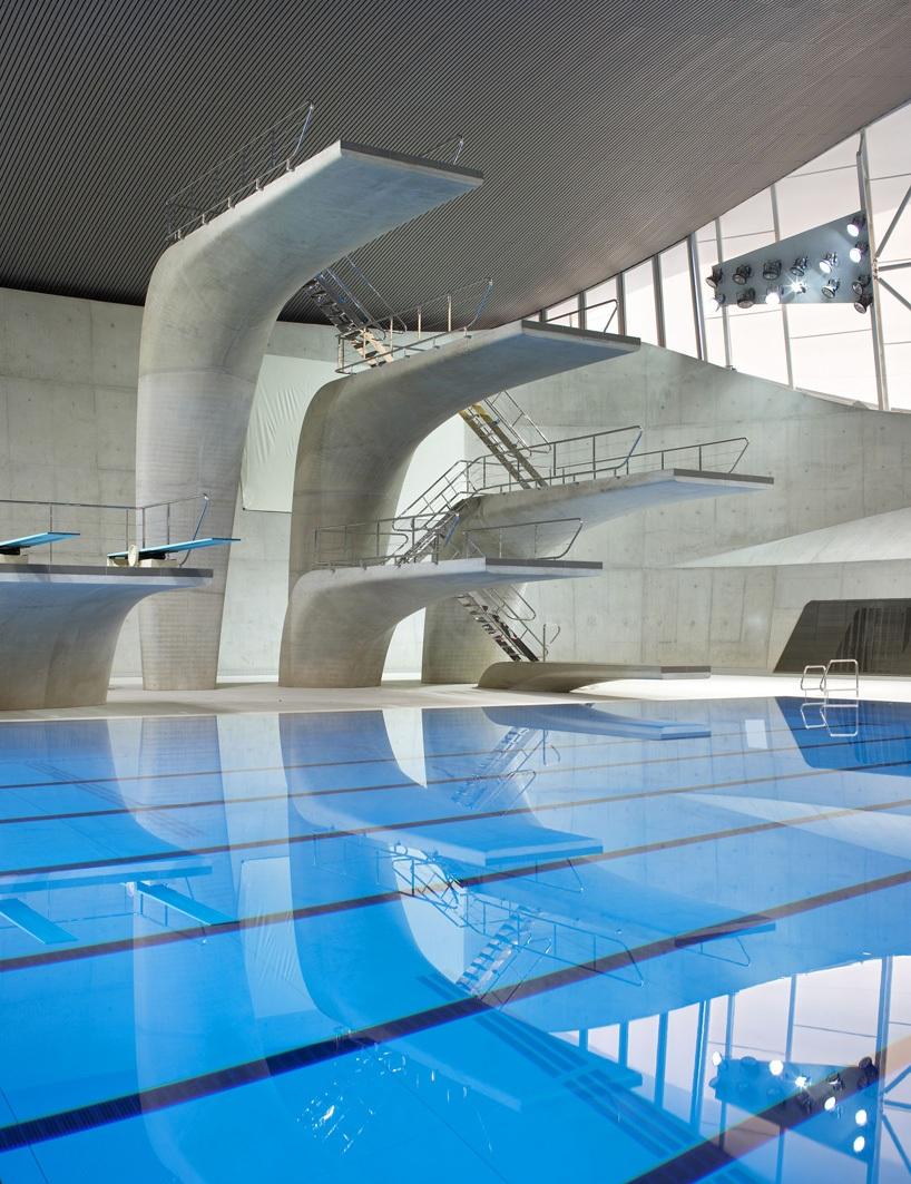Jeux olympiques piscine for Piscine zaha hadid