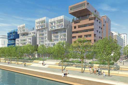 la liste des projets du nouveau quartier lyon confluence architecte fran ois grether. Black Bedroom Furniture Sets. Home Design Ideas