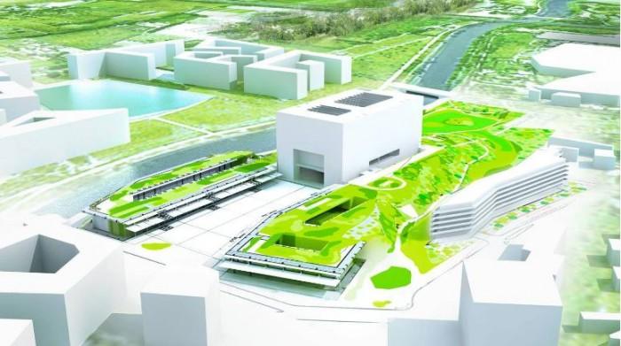 La future mairie de montpellier par l 39 architecte jean nouvel for Architecte montpellier