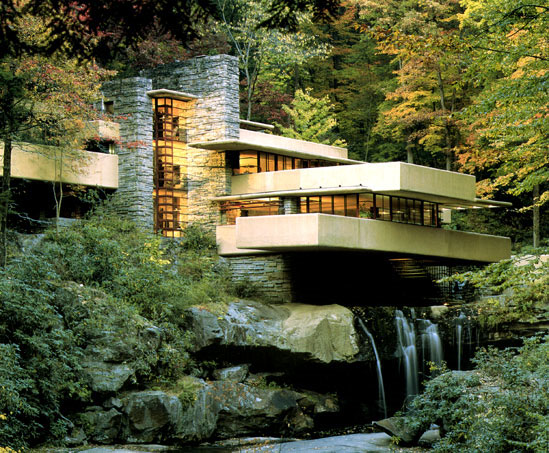 maison cascade frank llord wright Frank Lloyd Wright