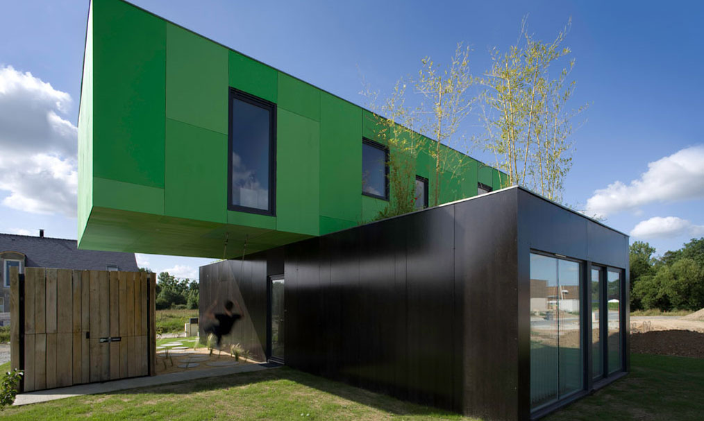 La maison en containers une solution innovante for Architecture exterieur