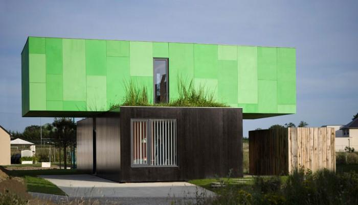 la crossbox de cg architectes maison conteneur. Black Bedroom Furniture Sets. Home Design Ideas